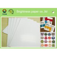 China Specialty Full 80gsm Art Paper Rolls , Recycled Craft Paper Wood Pulp Material on sale