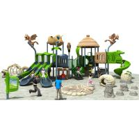 Buy cheap LLDPE And Resin Commercial Playground Slides Dinosaur Theme Suitable For Park And Resort from Wholesalers