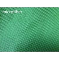 Buy cheap Green 150cm Width Microfiber Cleaning Cloth 300gsm Density Waffle Fabric Absorbent from Wholesalers
