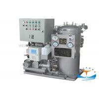 China Solas Approval Oily Water Bilge Separator , Fuel Oil Separator Marine 0.05-2.0 Capacity on sale
