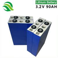 China Lithium Battery 3.2V 90AH LiFePO4 Battery Cell Wholesale Suppliers For Electric Boat And Ships on sale
