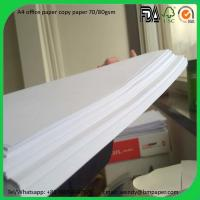 Buy cheap 102%-104% Brightness Printing Copier Paper A4 size/in jumbo roll from Wholesalers