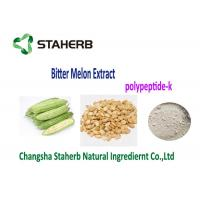 Buy cheap Health Weight Losing Raw Materials 100% Natural Bitter Melon Extract Powder Polypeptide-k from Wholesalers