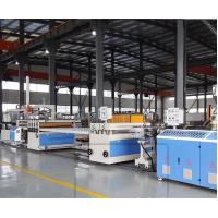 Buy cheap WPC PVC Plastic Board Extrusion Line With ABB Frequency Control from wholesalers