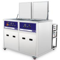 Buy cheap 2 Chambers Industrial Ultrasonic Cleaning Machine For Cylinder heads clean from wholesalers