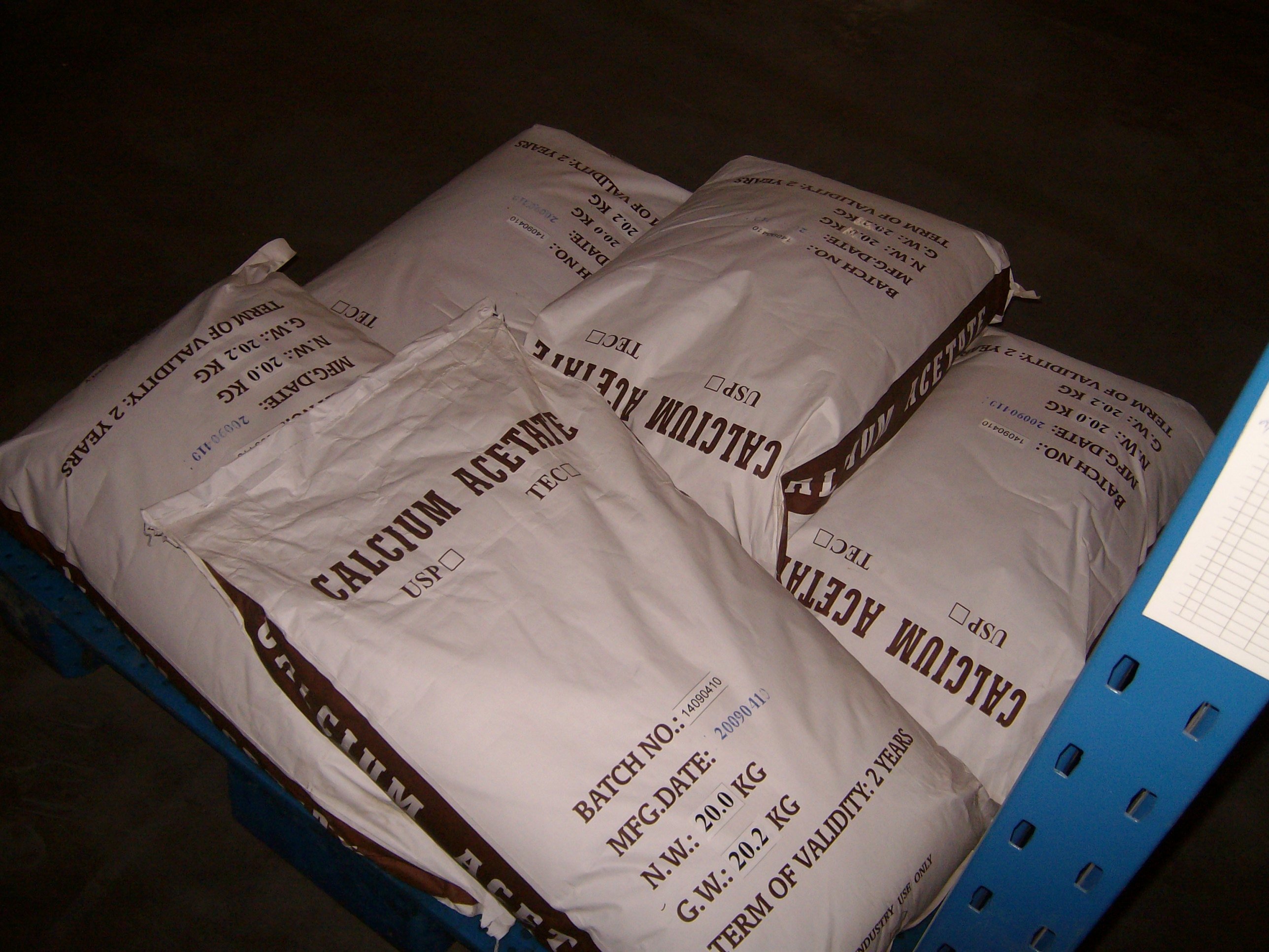 Buy cheap USP 27 Calcium Acetate Monohydrate Food Grade For Bread from wholesalers