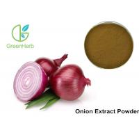 Buy cheap Allium Cepa Vegetable Extract Powder Natural Onion Powder For  Food Additive from wholesalers