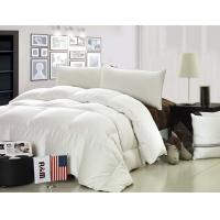Buy cheap Cotton Duck Down Feather Quilt Luxurious Washed Thick Comforter With Grid Embossing from Wholesalers