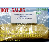 Quality Assay 99.99% Trenbolone Enanthate Plae Yellow Powder Parabola for Male Muscle Growth wholesale