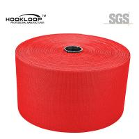 Quality 50 Yards / Roll Mushroom Hook And Loop Red Nylon Injection Hook Wide Velcro Tape Heat Resistance wholesale