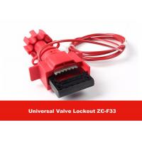 Buy cheap Universal Valve Lockout with 1.8M Cable Attched to Lock Out Valves from Wholesalers