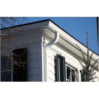 Buy cheap 5.2 Inch Dual Wall PVC Rain Gutter , Rain Carrying / Drainage System from Wholesalers
