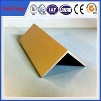 Buy cheap High Quality decorative aluminum extruded angle profile 6063 t5 made in china from Wholesalers