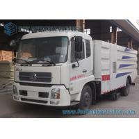 China 4x2 Drive Donfeng Road Cleaner Sanitation Truck 8000L For Dust Suction on sale