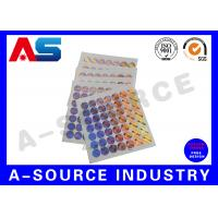 Buy cheap Tamper Evident 3D Custom Holographic Stickers for steroid label box packaging from wholesalers