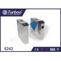Buy cheap PC arm brushed motor stainless steel flap barrier gate for industrial applicatio from wholesalers