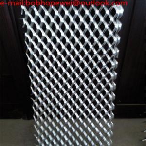 Buy cheap Decorative aluminum expanded metal mesh/customized Aluminum expanded metal mesh price/aluminum expanded mesh panels from Wholesalers