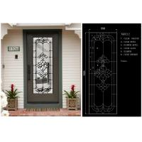 Buy cheap Visual Texture Decorative Bathroom Window Glass , Custom Glass Window Panels Obscurity from wholesalers