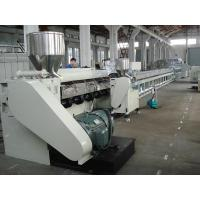 Quality Ceiling Panel PVC Sheet Production Line , PLC Control UPVC Window Making Machine for sale