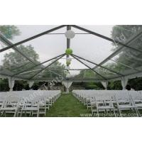 Buy cheap Glassland Romantic Transparent Clear Top Tent Wedding , clear party tent from Wholesalers