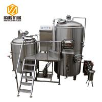 5HL Beer Production Equipment Large SS / Copper German Style For IPA