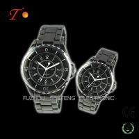 Resonable price stainless steel strap color available of pair watches for lovers with a gift box