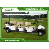 Buy cheap 11 Seater Battery Power Electric Golf Buggy , Electric Sightseeing Car CE from wholesalers