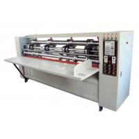 Buy cheap CE ISO Approval Semi Automatic Paper Slitting Machine Thin Blade Slitter Scorer from Wholesalers
