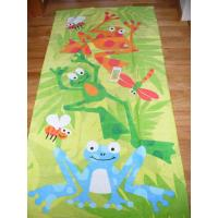 Buy cheap Large Size Custom Printed Beach Towels Comfortable For Youths 320gsm  from Wholesalers