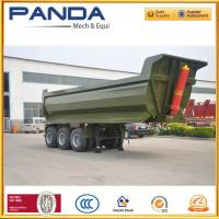 Buy cheap Heavy Duty 3 Axles 35-45 CBM Dump Tipper Rock Semi Trailer with BPW axle from wholesalers