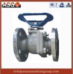 Special Material Ck20(f310) Dn12~4, Api 2 Pcs Float Ball Valve Cast Steel Ball Valve–ASG