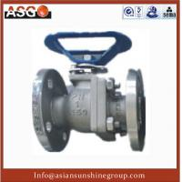 Quality Special Material Ck20(f310) Dn12~4, Api 2 Pcs Float Ball Valve Cast Steel Ball Valve–ASG for sale
