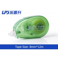 Quality Office Stationery Glue tape Roller 8mm , Permanent 2 Side Adhesive Tape Runner wholesale