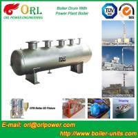 Buy cheap 1000 Ton gas fire steam boiler mud drum TUV from wholesalers