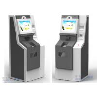 Buy cheap Custom High Resolution Bill Payment Kiosk With Coin Acceptor / Cash Payment from Wholesalers