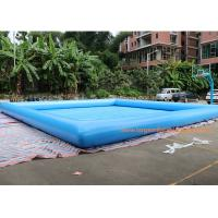 Buy cheap Fire Retardant And Waterproof Blow Up Swimming Pool 10*10m Or Customized from wholesalers