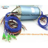 Buy cheap 12 Channels 36 Circuits Electrical Slip Ring Fiber Optic rotary union 200 - 400 Million Revolutions FORJ from wholesalers