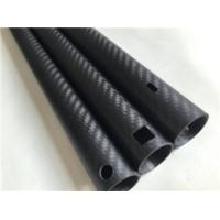 Buy cheap gardening carbon tubes, carbon fiber pipes, carbon tube for cutting machine from Wholesalers