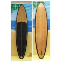 High Quality 9ft Epoxy Paddle Boards Customized Black Rail SUP Boards