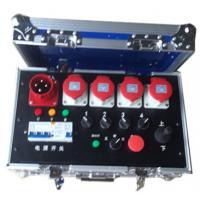 Quality Noctilucence Rack Flight Case , Four Channel Motor Chain Hoist Power Case wholesale