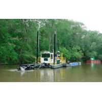 Buy cheap jet suction type alluvial gold dredger equipped with dressing equipment from Wholesalers