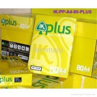 Quality IK Plus A4 Copy Paper A4 80 Gsm for sale