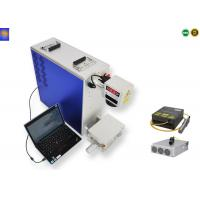 Buy cheap 50W Mini Portable Laser Marking Machine Air Cooling Mode 12000mm/s Marking Speed  from Wholesalers