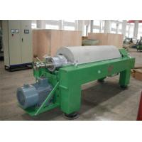 Buy cheap Tricanter Centrifuge / Horizontal Decanter Centrifuge For Water Solid Oil Separation from Wholesalers