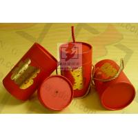 Buy cheap Wedding Gift Large Diameter Cardboard Tube Packaging With Ribbon from Wholesalers