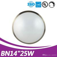 Buy cheap modern DOB driverless ceiling fixture 14inch 25w UL listed round ceiling light for shop from wholesalers