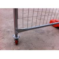 Buy cheap Heavy Duty Design Temp Fence Panels Portable Mesh Fencing 84 Microns from Wholesalers