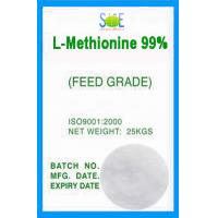 Buy cheap White L-Methionine Powder Animal Feed Grade 99% Pure Amino Acids SAA-METL99 from Wholesalers
