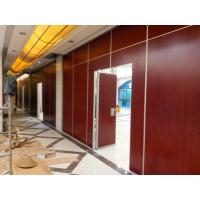 Buy cheap Interior Commercial Auditorium Folding Room Dividers With Aluminium Track Roller from wholesalers