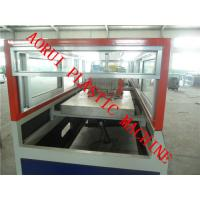 Buy cheap WPC Chair Profile Plastic Extrusion Line , Bench Profile Machine from Wholesalers